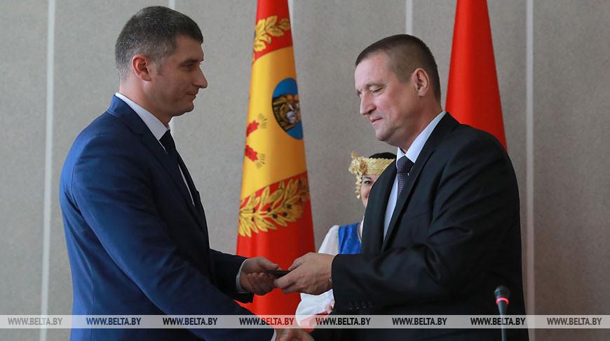 Новый руководитель Чаусского района утвержден в должности
