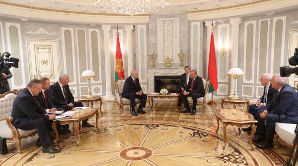 Лукашенко встретился с премьер-министром Грузии