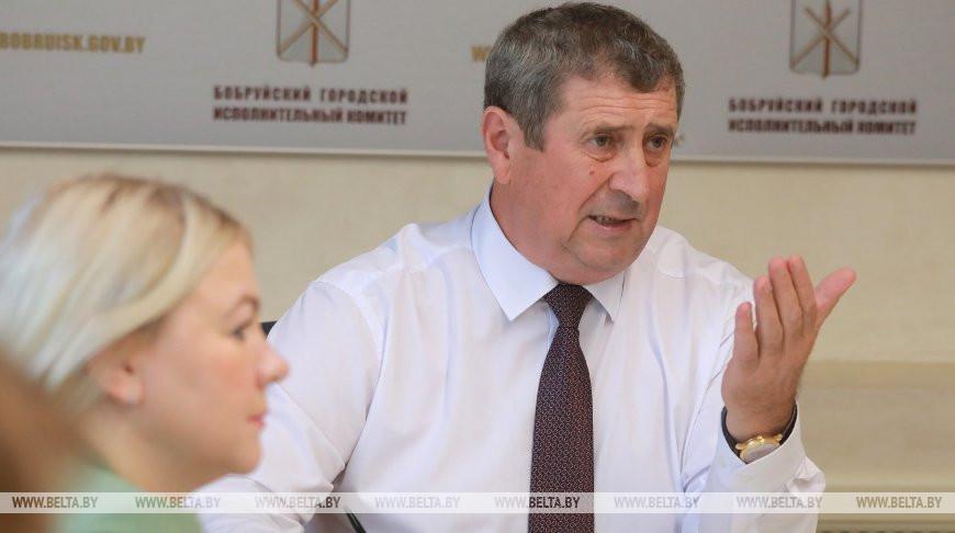 Русый проводит выездной прием граждан в Бобруйске