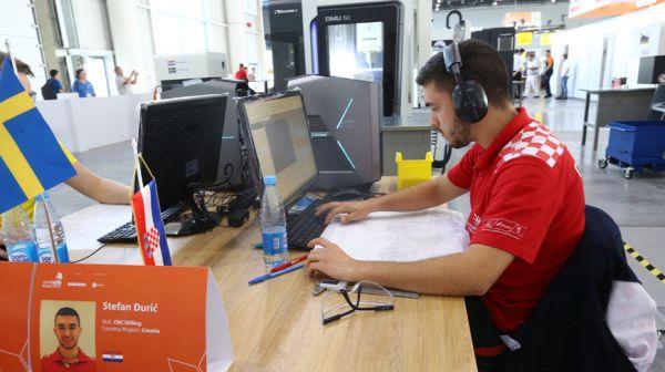 Соревнования WorldSkills проходят в Казани