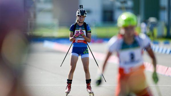 Алина Пильчук стала 16-й в суперспринте чемпионата мира по летнему биатлону среди юниоров
