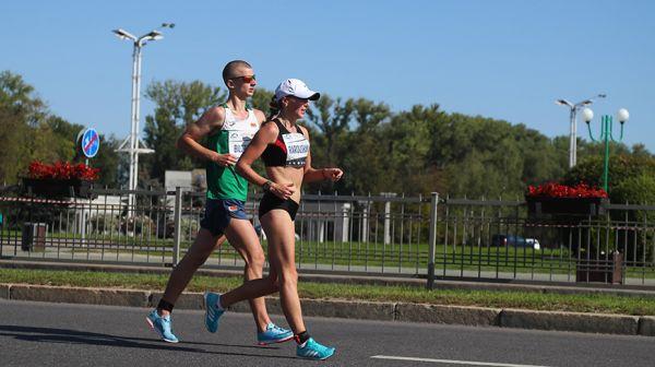 Чемпионат Беларуси по спортивной ходьбе прошел в Минске