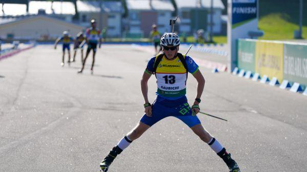 """Биатлонист Виктор Кривко финишировал четвертым в суперспринте летнего ЧМ в """"Раубичах"""""""