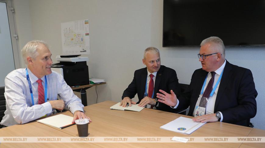 Карпенко встретился с исполнительным директором WorldSkills International