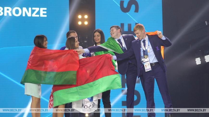 Все представители юниорской сборной Беларуси получили медали на чемпионате WorldSkill