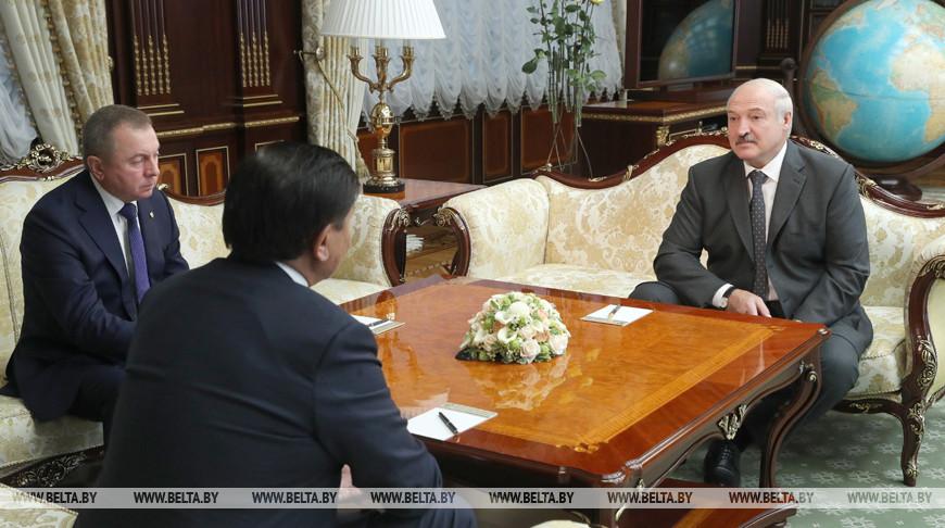 Лукашенко встретился с послом Казахстана