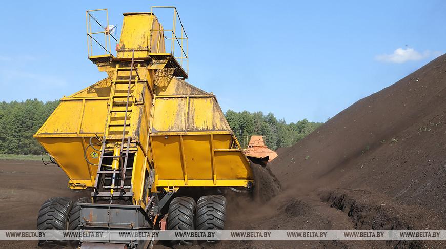 2,5 млн т торфа в год добывают в Беларуси