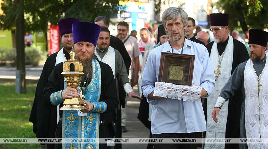 """Экспедиция """"Дорога к святыням"""" прибыла в Слоним"""