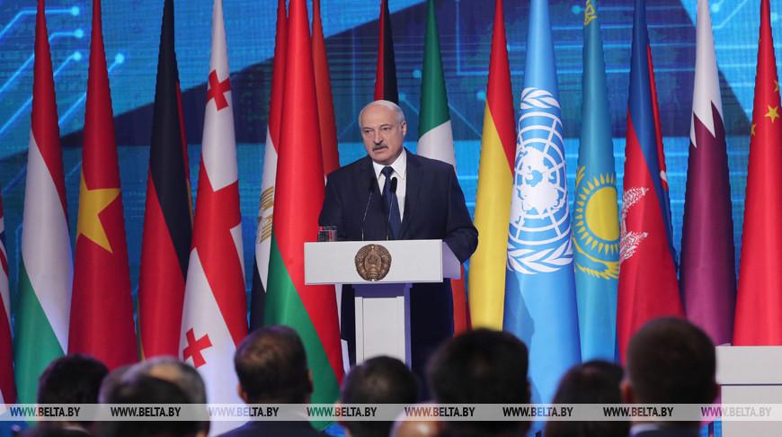 Лукашенко принял участие в международной конференции по борьбе с терроризмом