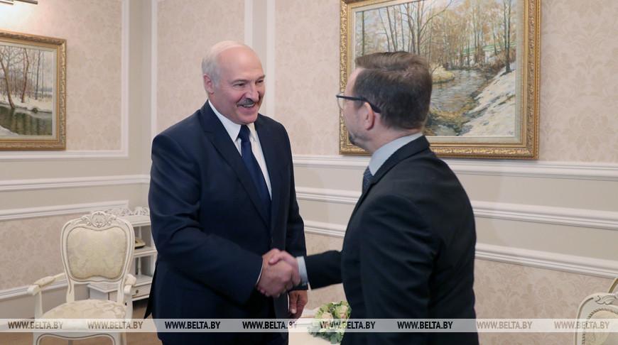 Лукашенко встретился с Генеральным секретарем Организации по безопасности и сотрудничеству в Европе