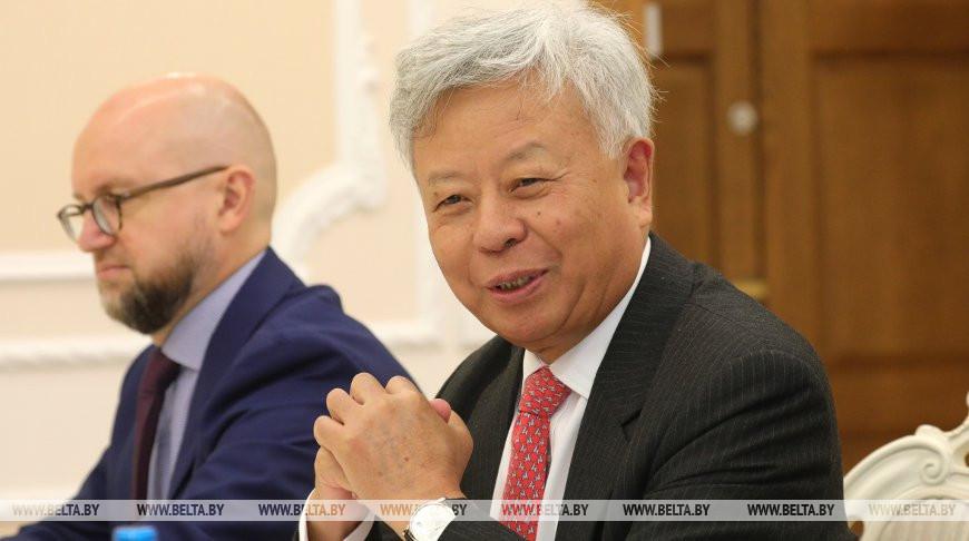 Сергей Румас встретился с президентом АБИИ Цзинь Лицюнем