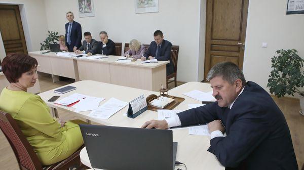 Председатель Гомельского облисполкома провел прием граждан