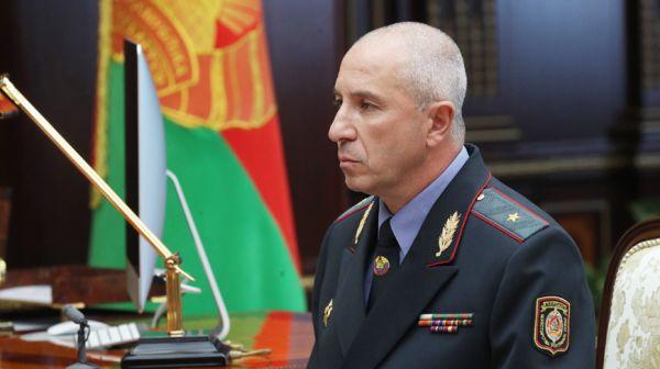 Лукашенко принял с докладом главу МВД и поблагодарил за раскрытие ограбления ювелирного магазина