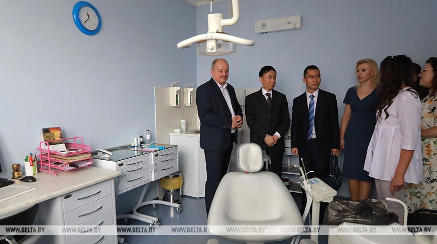 Больница китайской медицины заинтересована в продвижении своих препаратов на белорусский рынок