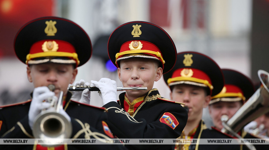 Парад оркестров прошел в Бресте