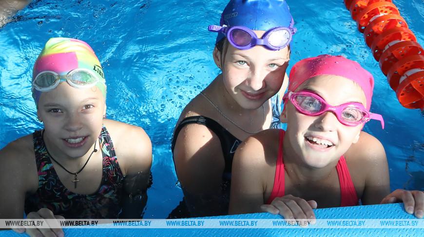 В Мозыре после реконструкции открылся бассейн