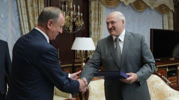 Лукашенко встретился с секретарем Совета безопасности России