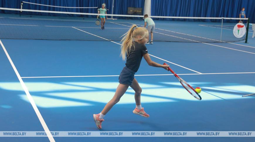 В Могилевском физкультурно-спортивном клубе открылись теннисные корты