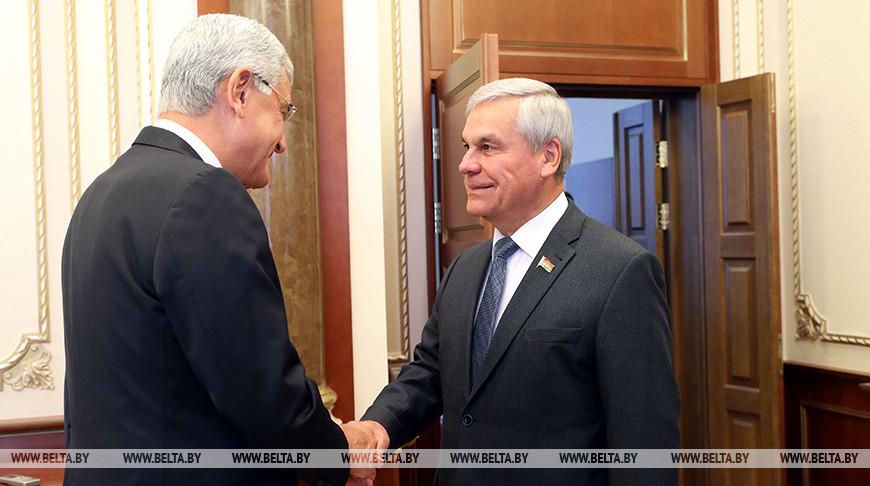 Андрейченко встретился с председателем комиссии по иностранным делам парламента Турции