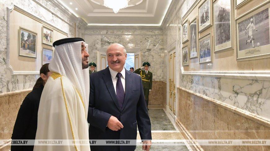 Лукашенко уверен в дальнейшем развитии дружественных отношений с ОАЭ