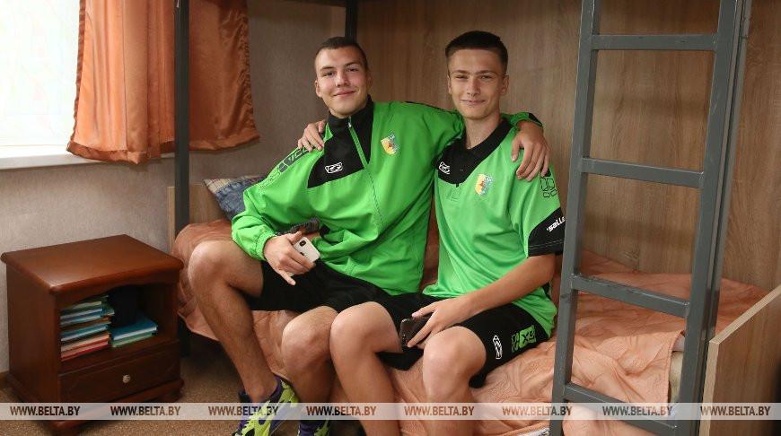 В Гродно открыли общежитие для юных футбольных талантов со всей области