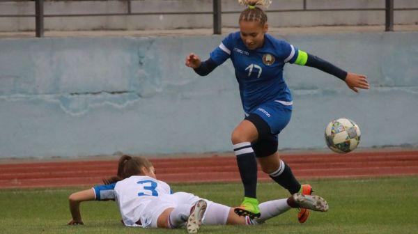 Сборная Беларуси (U-17) с разгромным счетом уступила исландским футболисткам в отборочном раунде чемпионата Европы