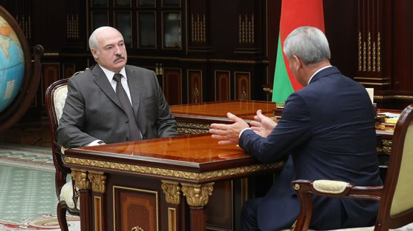 Александр Лукашенко встретился с Владимиром Андрейченко