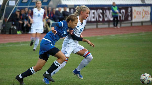 Белорусские футболистки проиграли сборной Исландии в отборочном матче чемпионата Европы