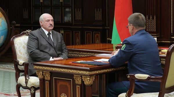 Лукашенко встретился с председателем Государственного таможенного комитета