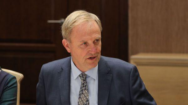 Попков встретился с поверенным в делах представительства ЕС в Беларуси