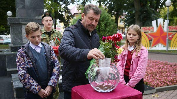 """Акция """"Во славу общей Победы"""" прошла в Щучине"""