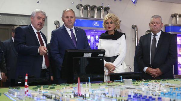 "Румас посетил ОАО ""Гродно Азот"""