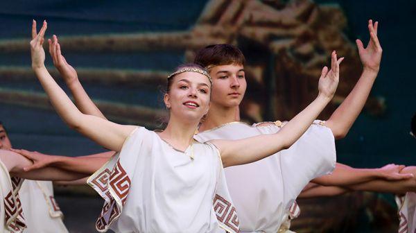 Праздник греческой культуры прошел в Верхнем городе