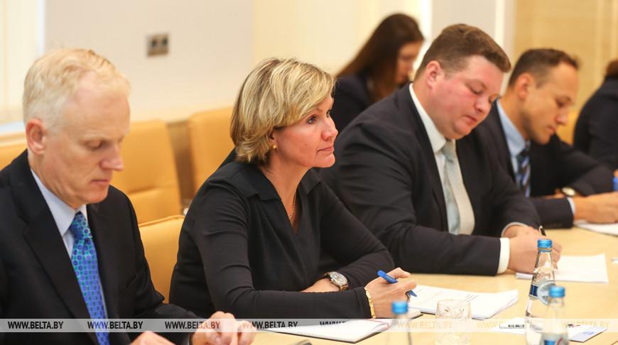 Турчин встретился с представителями Всемирного банка