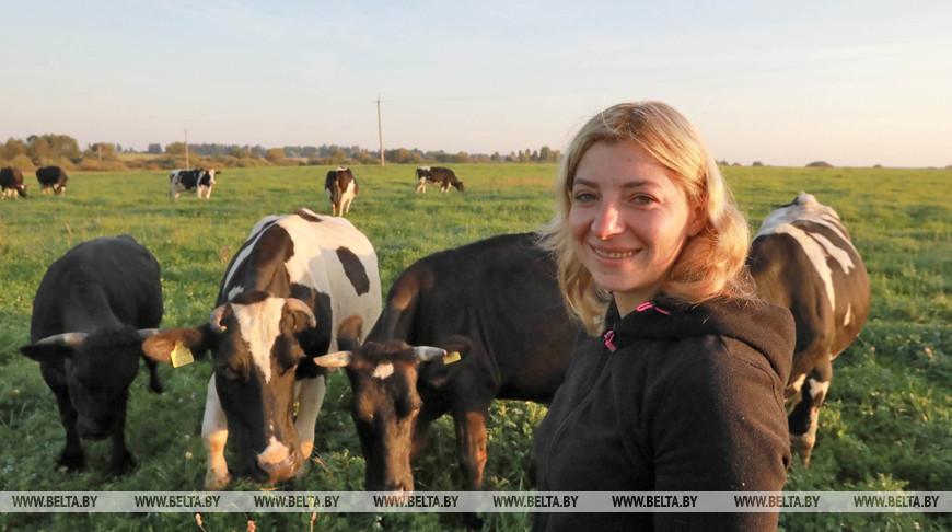 Около 300 л молока сдает ежедневно семья из Горецкого района