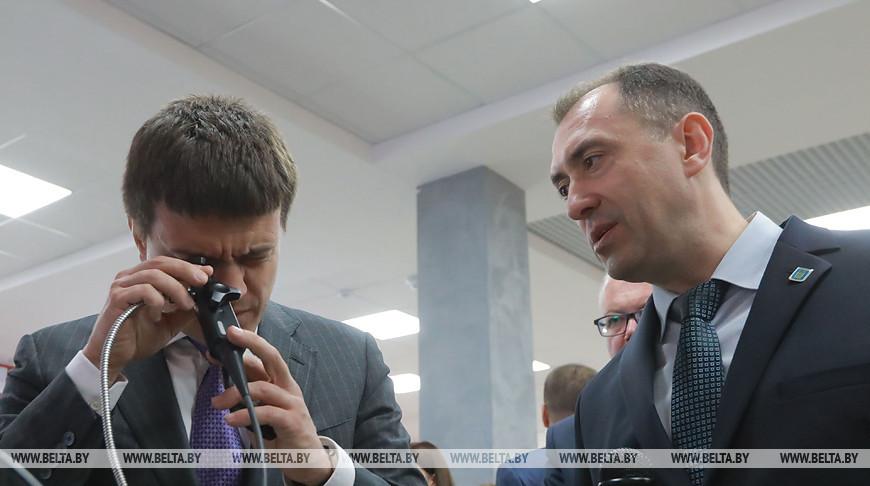 Министр науки и высшего образования России посетил Белорусско-Российский университет
