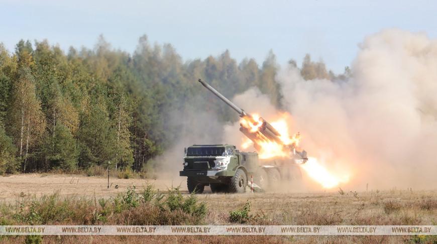 Учения артиллеристов прошли на Обуз-Лесновском полигоне