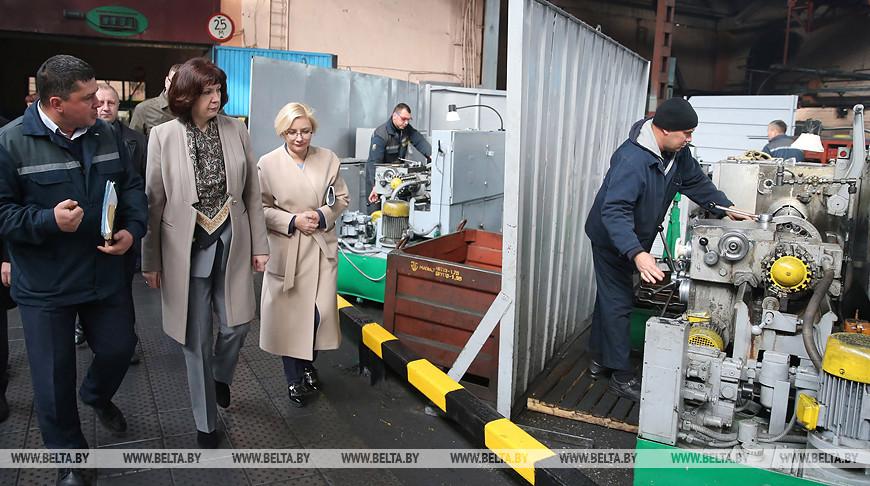 Кочанова посетила с рабочей поездкой Бобруйск
