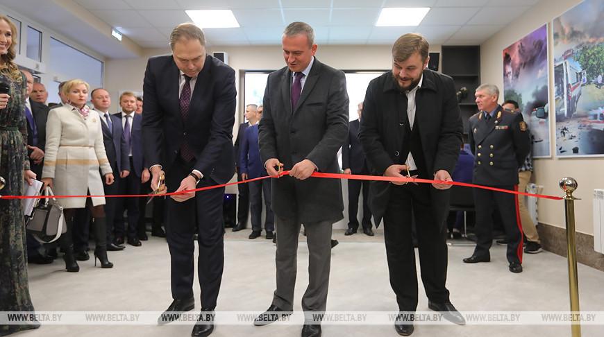 Центр помощи тяжелым пациентам после ДТП открылся под Минском