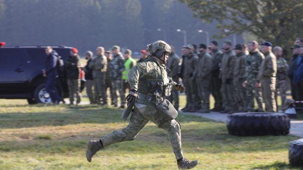 Соревнования по стрельбе из боевого оружия среди подразделений спецназа под Минском
