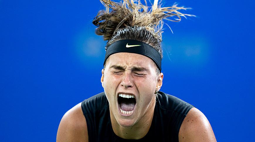 Арина Соболенко обыграла первую ракетку мира Эшли Барти и вышла в финал турнира в Ухане