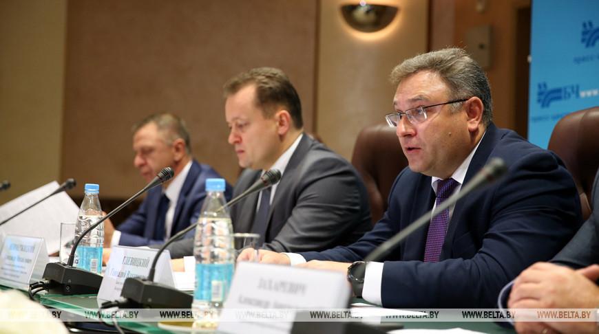 Брифинг-презентация услуг Белорусской железной дороги прошел в Минске