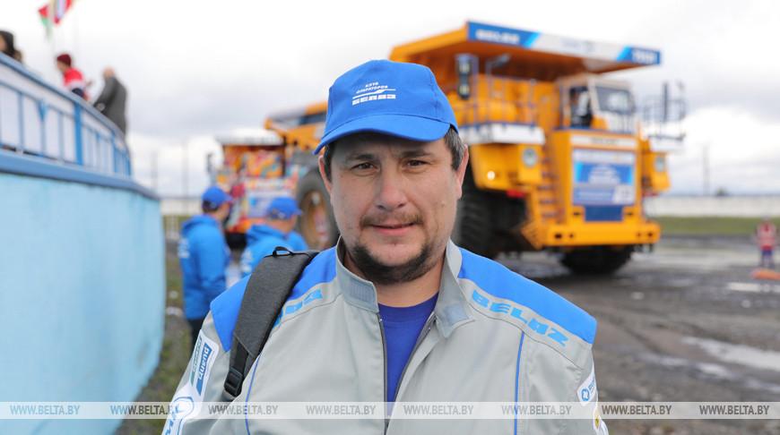 Чемпионат клуба операторов БелАЗов проходит в Жодино