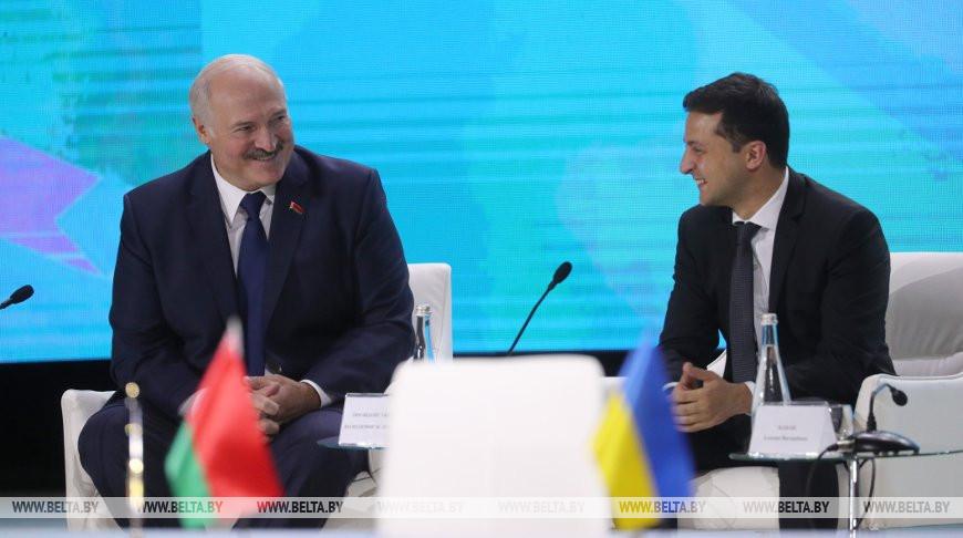 Лукашенко и Зеленский приняли участие в заседании II Форума регионов Беларуси и Украины