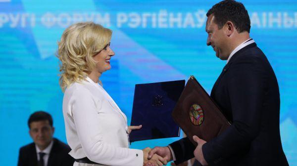 Регионы Беларуси и Украины заключили соглашения о многостороннем сотрудничестве