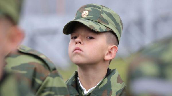 Первокурсники Минского областного кадетского училища дали клятву кадета