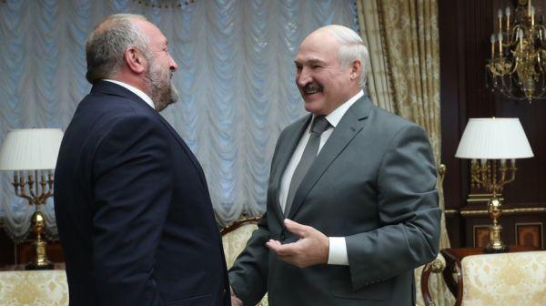 Лукашенко встретился с экс-президентом Грузии