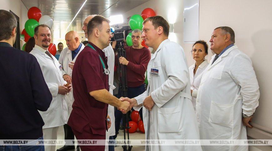Нейрохирургическое отделение открылось в Брестской областной больнице после реконструкции