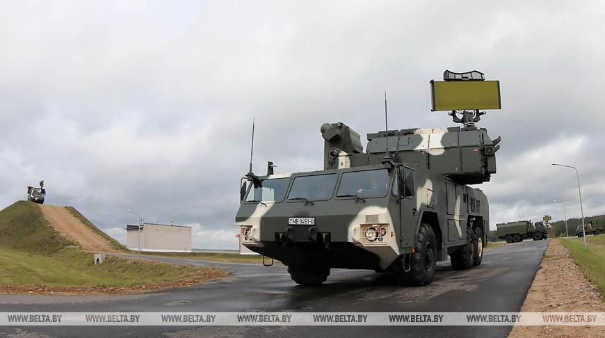 Журналисты посетили подразделение ПВО возле Белорусской АЭС