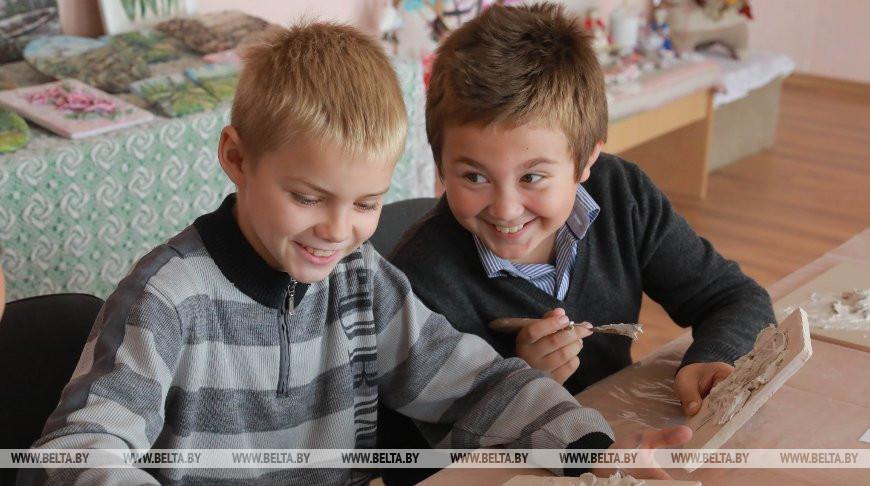 Детский клуб декоративного творчества в Светиловичском сельском Доме ремесел